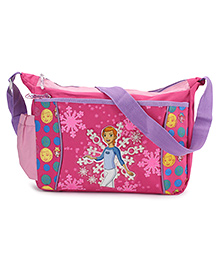 Bags & Baggage Messenger Bag Gwen 10 Print Pink - 13.3 Inches