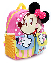 Disney Minnie Mouse School Backpack - Pink