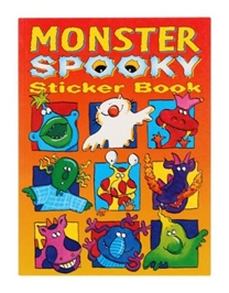 Monster Spooky Sticker Book