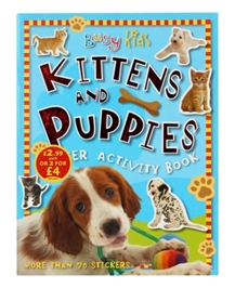 Busy Kids Kittens and Puppies Sticker Activity Book