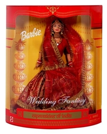 Barbie Wedding Fantasy 3 Years , Barbie In India doll