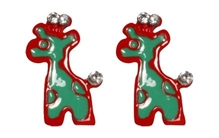 Earrings Giraff