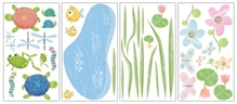Elementto Happy Pond Wall Sticker