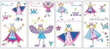 Elementto Fairy Princess Wall Sticker
