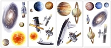 Elementto Space Travel Wall Sticker