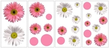 Elementto Flower Power Wall Stickers