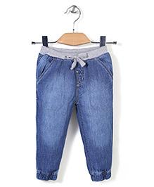 Gini & Jony Elasticated Jeans - Light Blue
