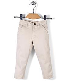 Gini & Jony Plain Trousers - Cream