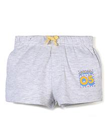 Gini & Jony Drawstring Shorts - Light Grey