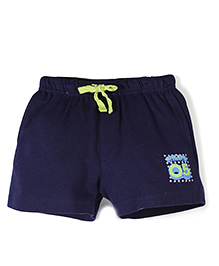 Gini & Jony Drawstring Shorts - Navy