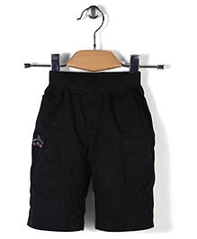Jash Kids Pull On Jamaican Shorts - Black