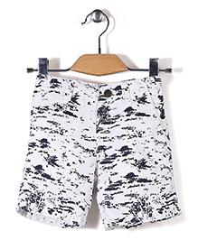 Gini & Jony Bermuda Shorts - White