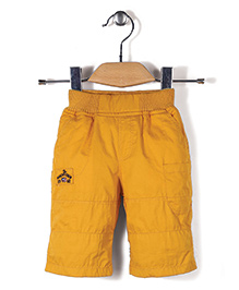 Jash Kids Pull On Jamaican Shorts - Yellow