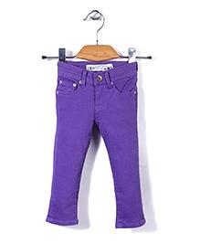 Deeper Stylish Pant - Purple
