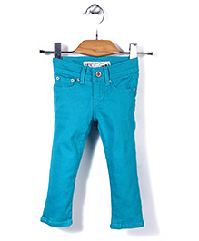 Deeper Stylish Pant - Teal Blue