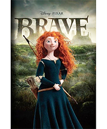Disney Pixar Brave Book Of The Film - English