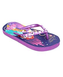 Disney Flip Flops Princess Design - Purple