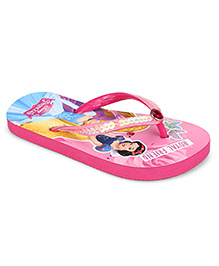 Disney Flip Flops Princess Design - Pink