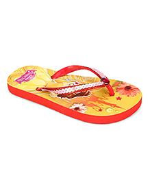 Disney Flip Flops Princess Design - Yellow