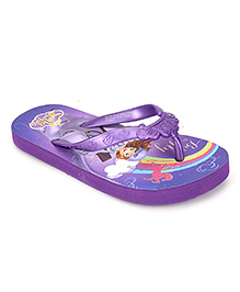 Disney Flip Flops Sofia Design - Purple