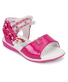 Disney Party Wear Sandals Butterfly Motif - Pink