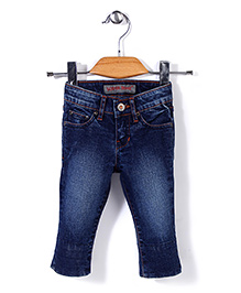 Deeper Jeans Stylish Pant - Navy Blue