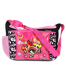Power Puff Girls Tangled Body Strap Sling Bag - Pink