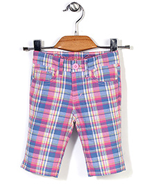 Deeper Checkered Shorts - Blue
