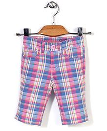 Deeper Checkered Shorts - Blue