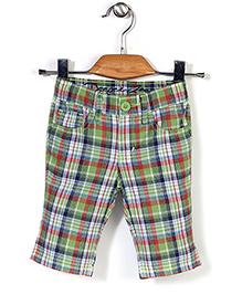 Deeper Checkered Shorts - Green