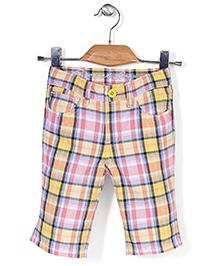 Deeper Checkered Shorts - Multicolour