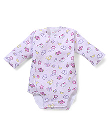 Dear Tiny Baby Long Sleeves Onesies - Pink
