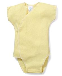 Dear Tiny Baby Short Sleeves Onesies - Yellow