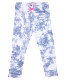 CrayonFlakes Full Length Leggings - Blue White