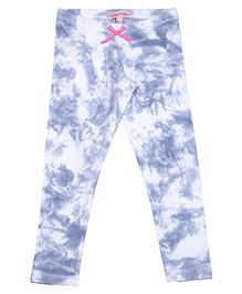 CrayonFlakes Full Length Leggings - Blue White