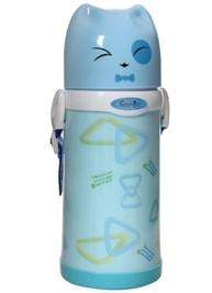 Fab & Funky Triangle Water Bottle - Blue
