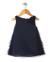 Little Coogie Stylish Dress - Blue