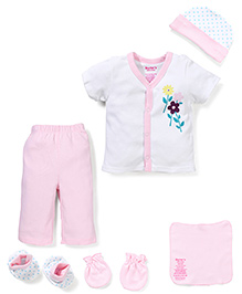 Starters Attractive & Comfortable Baby Gift Set - Pink