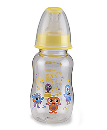 Mee Mee Plastic Premium Feeding Bottle Yellow - 150 Ml