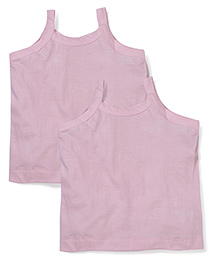 Mustang Singlet Camisole Pink - Pack Of 2