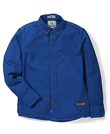 Police Zebra Junior Solid Color Shirt - Blue
