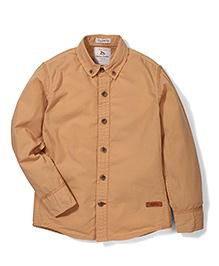 Police Zebra Juniors Shirt - Brown