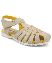 Kittens Shoes Casual Sandal Velcro Closure - Beige
