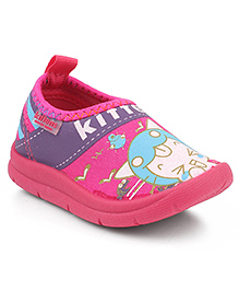 Kittens Shoes Canvas Casual Shoes - Pink