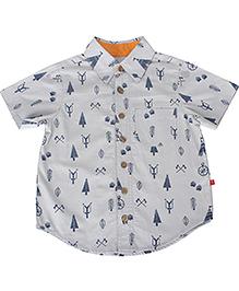 Nino Bambino Organic Cotton Shirt - Grey
