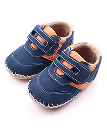 Alle Alle Casual Shoes With Velcro Closure - Blue