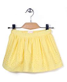 Pumpkin Patch Skirt Hakoba Pattern - Yellow