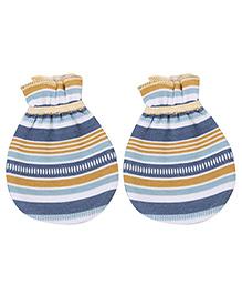 Ohms Stripe Mittens - Multicolour