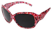 Baby Sunglasses - Dotted Dark Pink Black