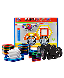 Flying Start Magna Blocks Multi Color - 40 Pieces